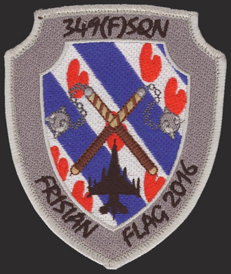 USAF 1st Tactical Recon Squadron Patch 871G