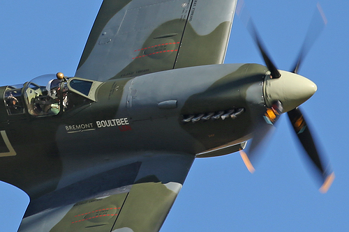 Her Majesty   The Spitfire @ Duxford